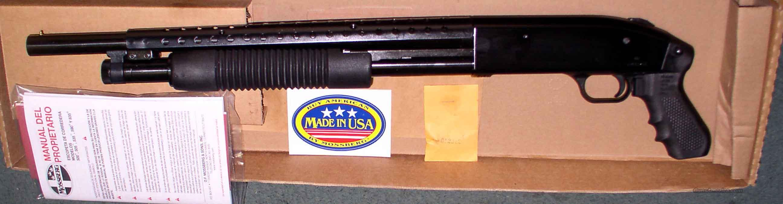 MOSSBERG 500 PUMP 12 GA PISTOL GRIP  Guns > Shotguns > Mossberg Shotguns > Pump > Tactical