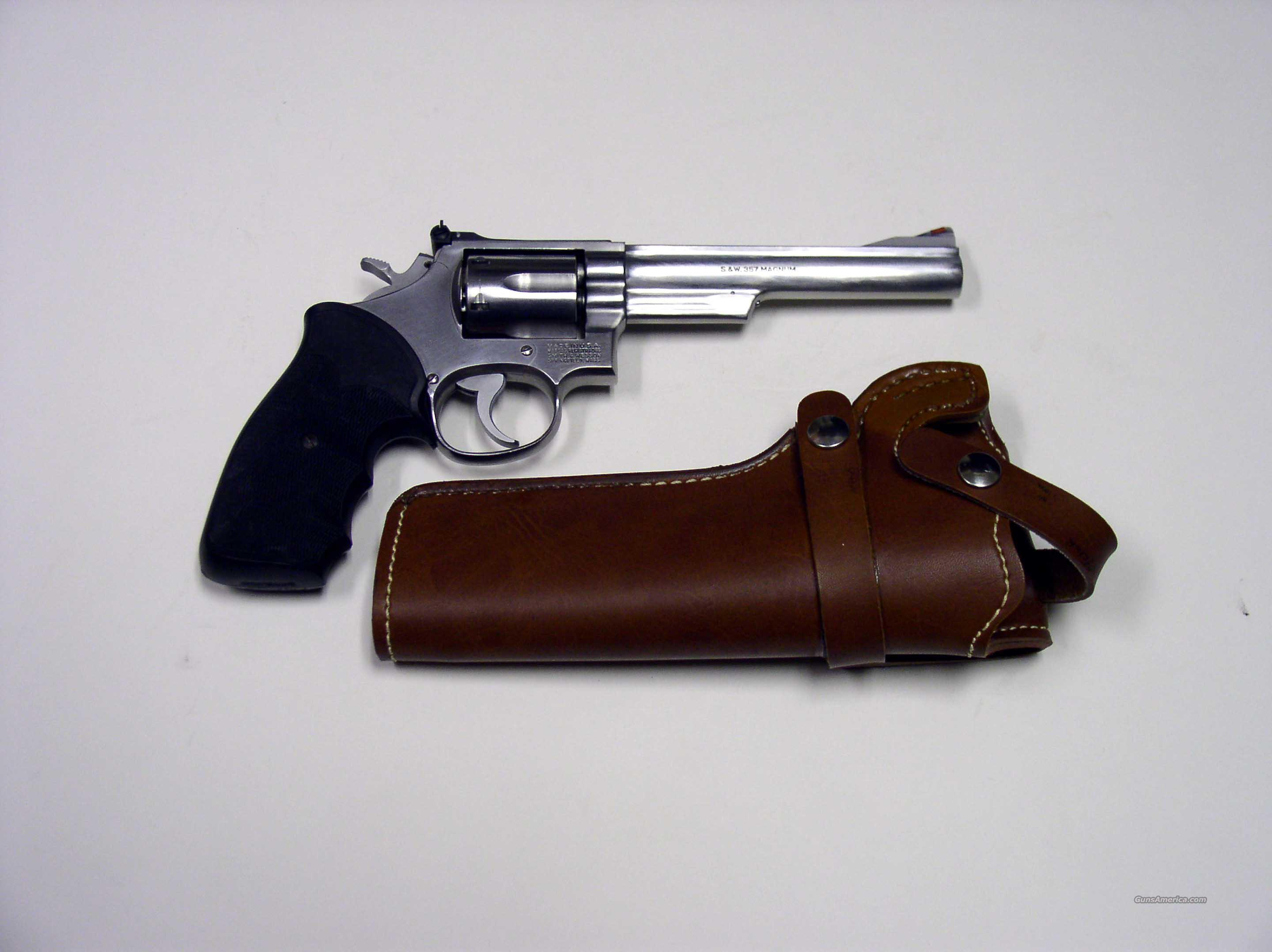 SMITH&WESSON MODEL 66-2 STAINLESS .357 MAGNUM  Guns > Pistols > Smith & Wesson Revolvers > Full Frame Revolver