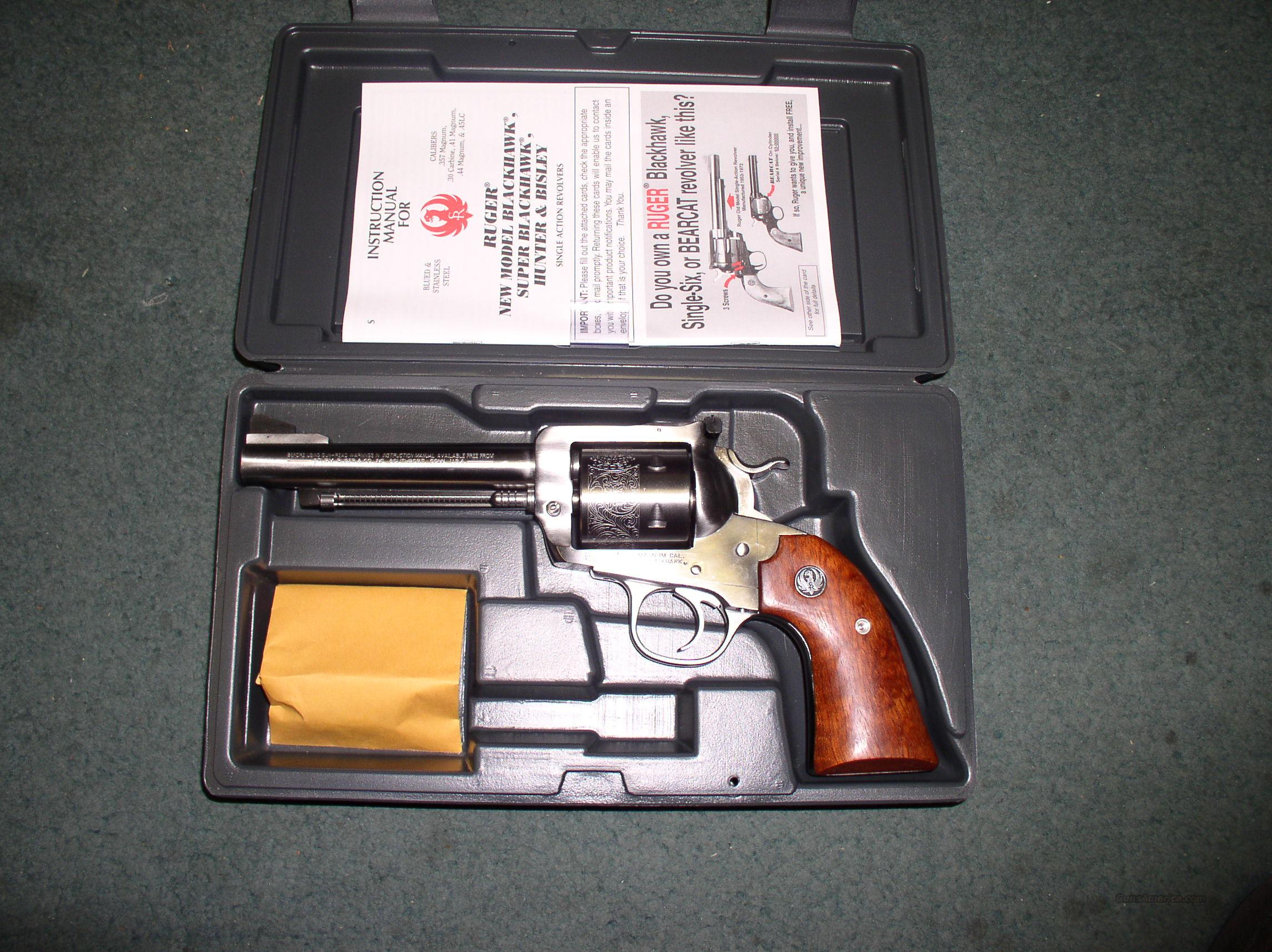 RUGER NM SUPER BLACKHAWK BISLY .44 MAGNUM RARE!  Guns > Pistols > Ruger Single Action Revolvers > Blackhawk Type