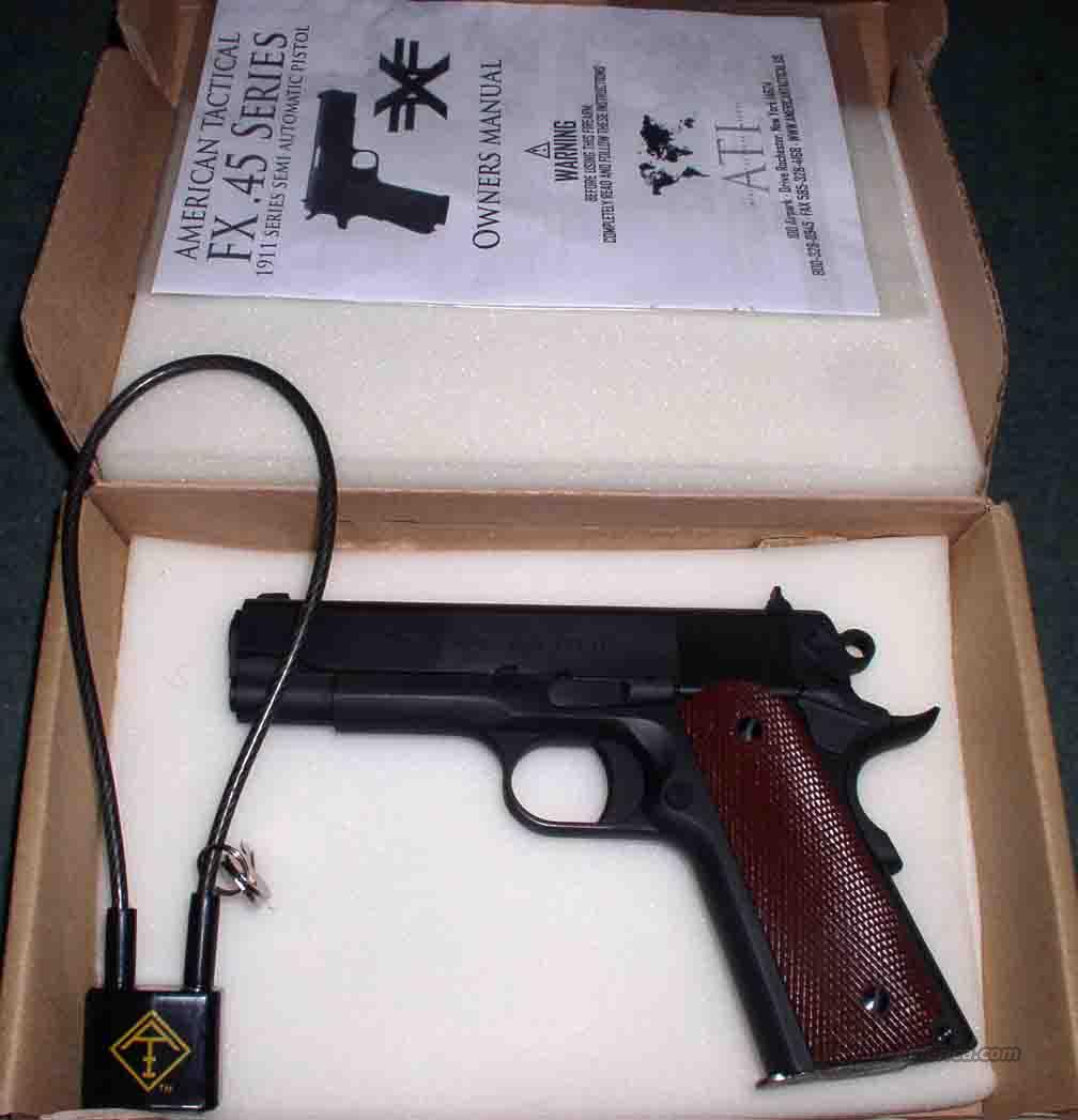 ARMSCOR AMERICAN TACTICAL M1911 GI .45 ACP  Guns > Pistols > American Tactical Imports Rifles