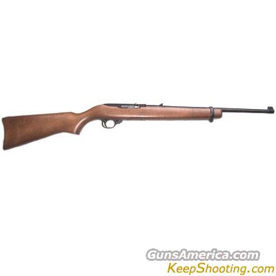 RUGER 10-22 WOOD/BLUED .22 LONG RIFLE  Guns > Rifles > Ruger Rifles > 10-22
