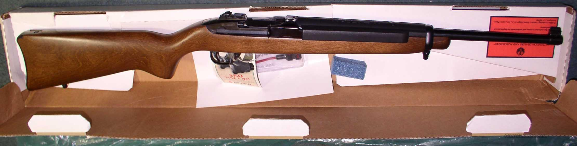 RUGER DEERFIELD NEW IN BOX 99/44  Guns > Rifles > Ruger Rifles > M44/Carbine