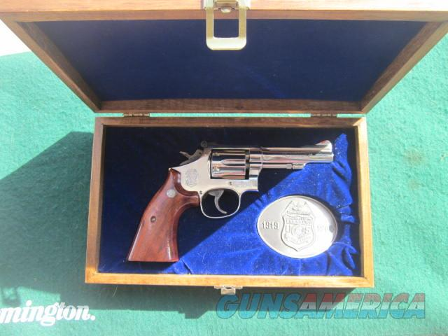 Smith & Wesson 15 US Department of Treasury Commemorative  Guns > Pistols > Smith & Wesson Revolvers > Med. Frame ( K/L )