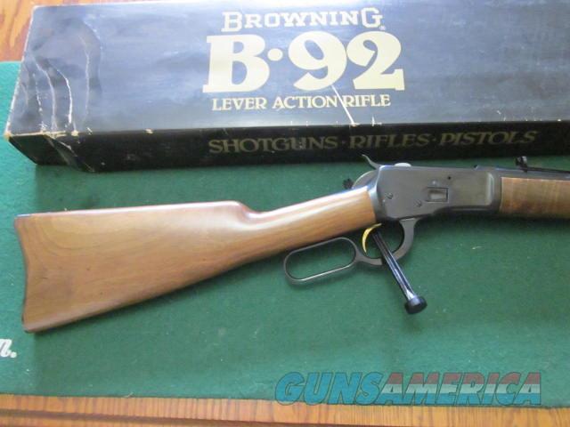 Browning B 92 44 Magnum  Guns > Rifles > Browning Rifles > Lever Action