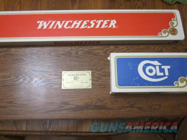Winchester/ Colt SAA  Commemorative Set  Guns > Rifles > Winchester Rifle Commemoratives