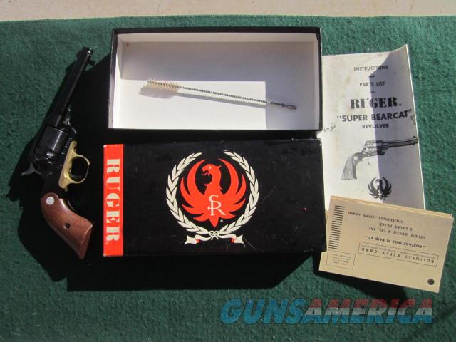 Ruger Super Bearcat Old Model  Guns > Pistols > Ruger Single Action Revolvers > Bearcat
