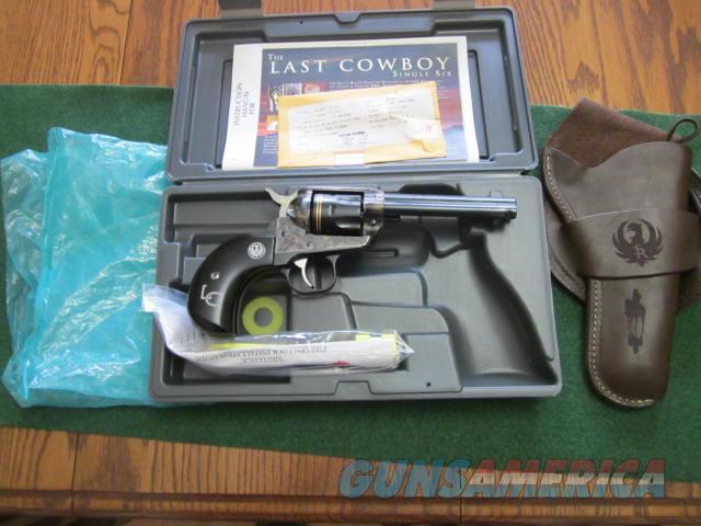 Ruger Single Six Last Cowboy 32 H & R Magnum  Guns > Pistols > Ruger Single Action Revolvers > Single Six Type