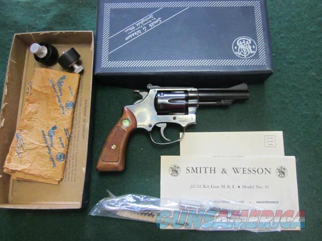 Smith & Wesson 51 No Dash  Guns > Pistols > Smith & Wesson Revolvers > Small Frame ( J )