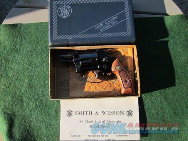 Smith & Wesson 37 No Dash  Guns > Pistols > Smith & Wesson Revolvers > Small Frame ( J )
