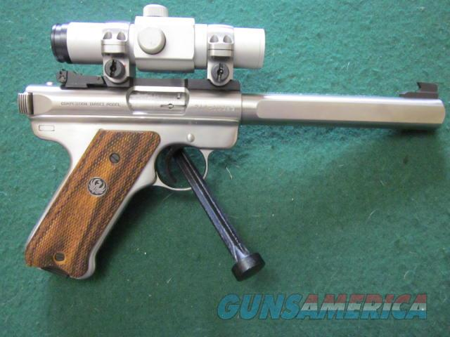 Ruger Mark II  CompetitionTarget Slab Side Barrel  Guns > Pistols > Ruger Semi-Auto Pistols > Mark I/II/III/IV Family