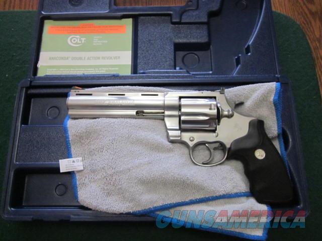 Colt Anaconda 45  Guns > Pistols > Colt Double Action Revolvers- Modern