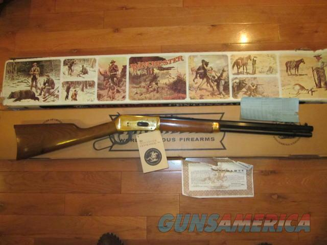 Winchester 94 Centennial 66  Guns > Rifles > Winchester Rifle Commemoratives