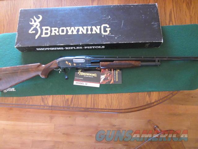 Browning M-12 28 Gauge Grade 5  Guns > Shotguns > Browning Shotguns > Pump Action > Hunting