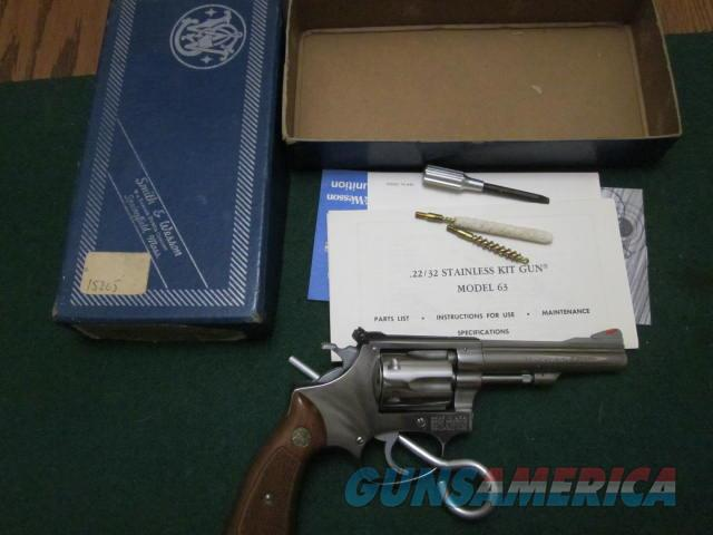 Smith And Wesson 63 No Dash  Guns > Pistols > Smith & Wesson Revolvers > Small Frame ( J )
