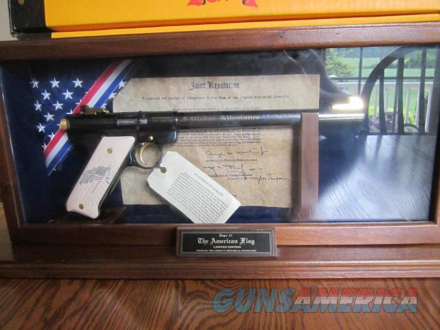 Ruger American Historical Foundation American Flag  Guns > Pistols > Ruger Semi-Auto Pistols > Mark I/II/III/IV Family