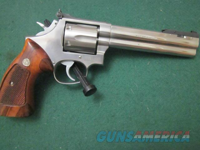 Smith And Wesson 686 Shiloutte  Guns > Pistols > Smith & Wesson Revolvers > Full Frame Revolver