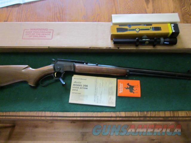Marlin Golden 39A  Guns > Rifles > Marlin Rifles > Modern > Lever Action