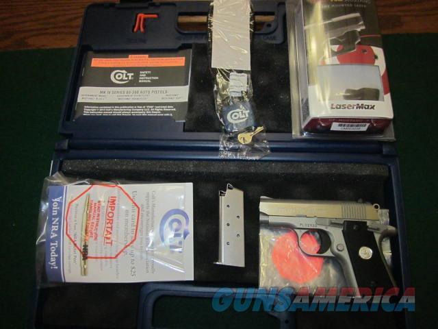 Colt Mustang Pocketlite Stainless Steel  Guns > Pistols > Colt Automatic Pistols (.25, .32, & .380 cal)