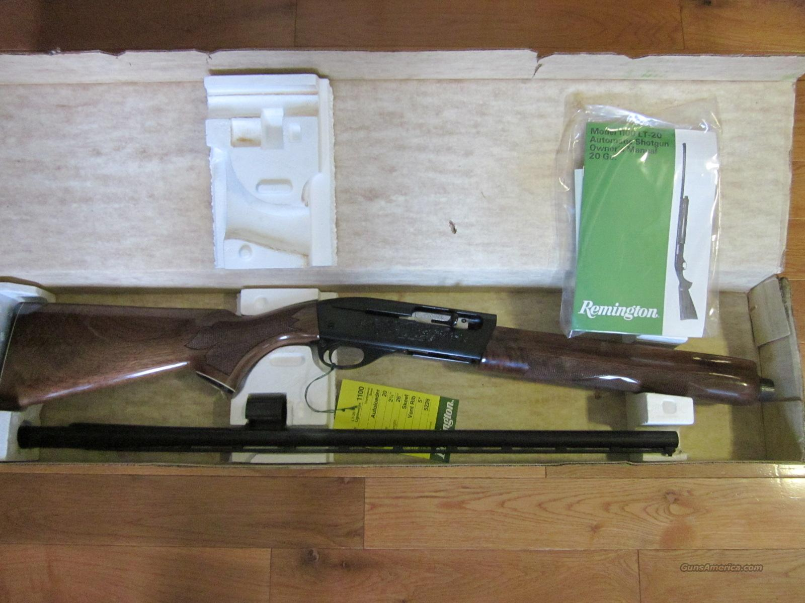 Remington 1100Lt20 Skeet T  Guns > Shotguns > Remington Shotguns  > Autoloaders > Trap/Skeet