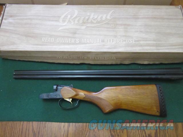 Baikal S x S 28 Gauge  Guns > Shotguns > Baikal Shotguns > SxS > Hunting