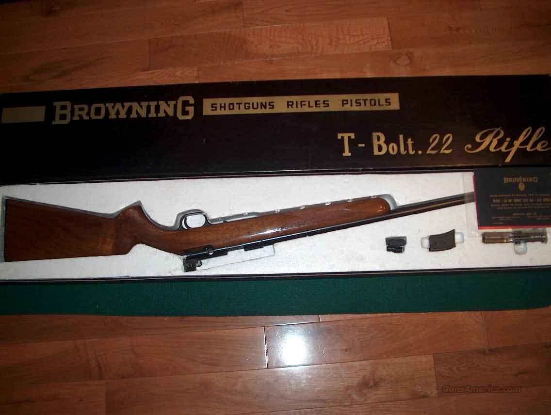 T Bolt Deluxe Left Hand  Guns > Rifles > Browning Rifles > Bolt Action > Hunting > Blue