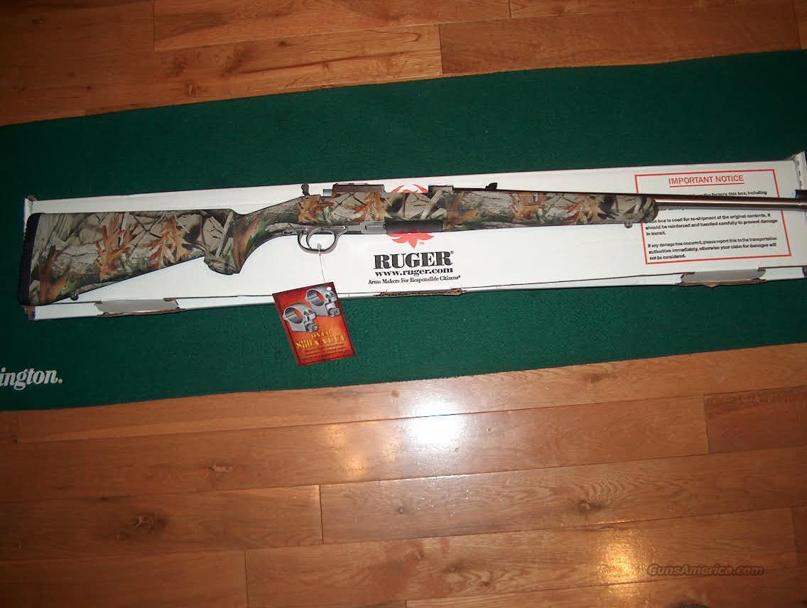 Ruger 77/44 Camo Stainless  Guns > Rifles > Ruger Rifles > Model 77