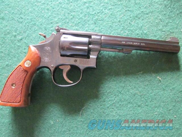 Smith & Wesson 17-3  Guns > Pistols > Smith & Wesson Revolvers > Med. Frame ( K/L )