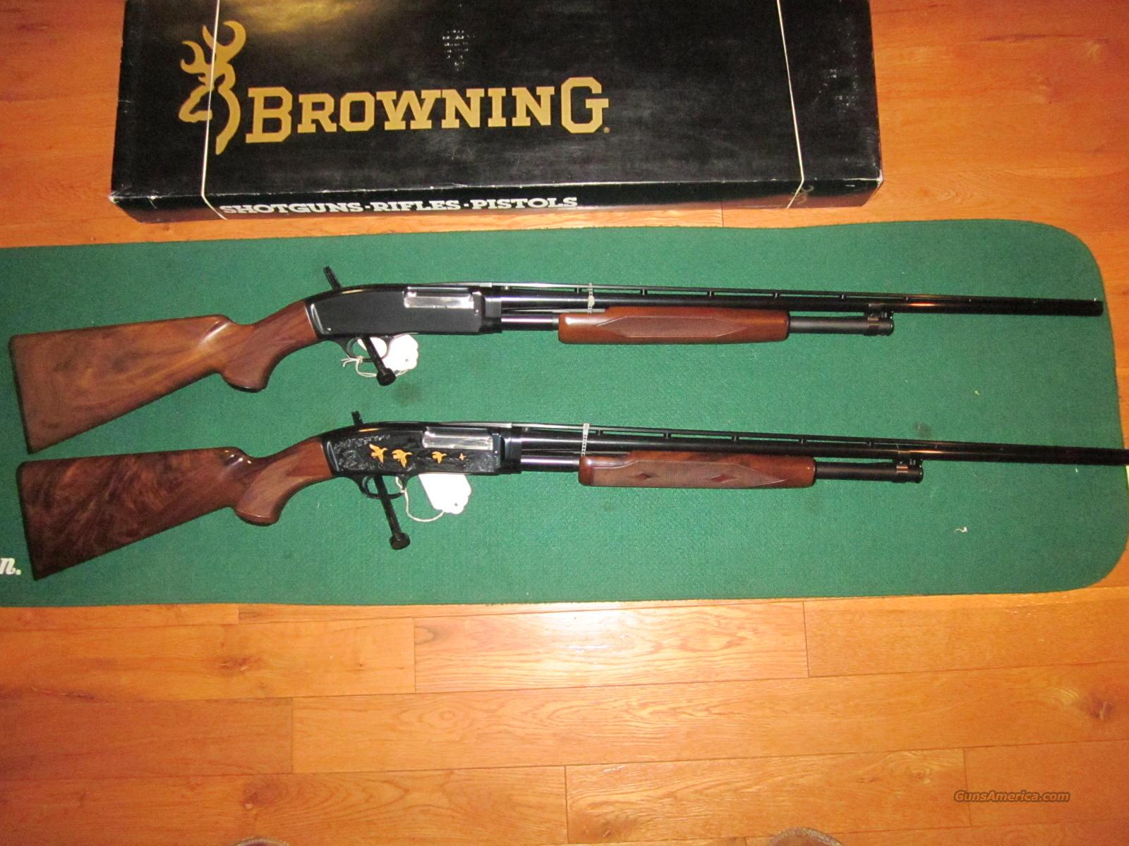 Browning M-42 Set 410  Guns > Shotguns > Browning Shotguns > Pump Action > Hunting
