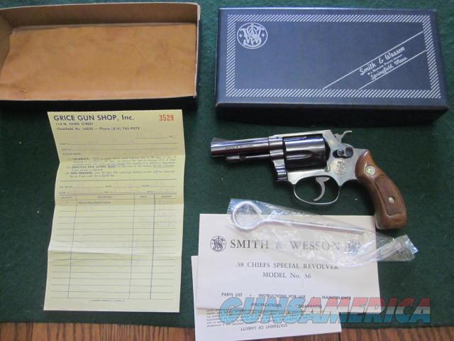 Smith & Wesson 36 Dash 1  Guns > Pistols > Smith & Wesson Revolvers > Small Frame ( J )