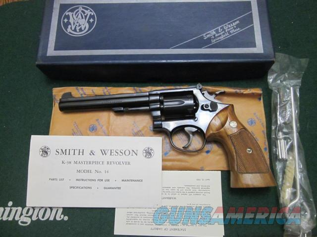 Smith And Wesson 14-3  Guns > Pistols > Smith & Wesson Revolvers > Med. Frame ( K/L )