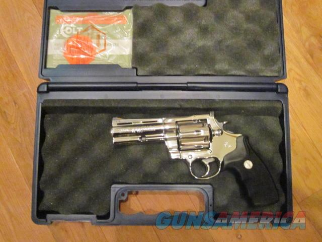 Colt Anaconda Bright Stainless 45LC  Guns > Pistols > Colt Double Action Revolvers- Modern