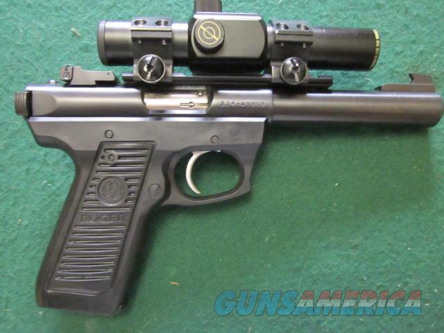 "Ruger 22/45 Target 5 1/2"" Bull Barrel  Guns > Pistols > Ruger Semi-Auto Pistols > 22/45"