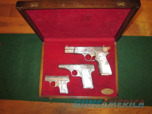 Browning Renaissance 3 Gun Set  Guns > Pistols > Browning Pistols > Hi Power