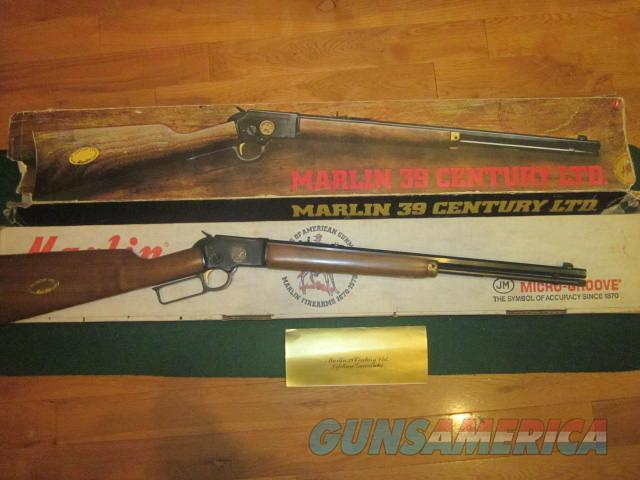 Marlin 39 Century Limited  Guns > Rifles > Marlin Rifles > Modern > Lever Action