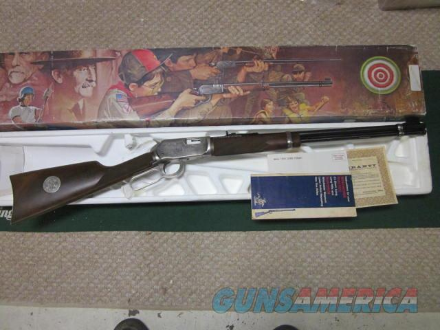 Winchester 9422 Boy Scout  Guns > Rifles > Winchester Rifle Commemoratives