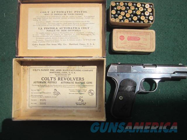 Colt 1903  Guns > Pistols > Colt Automatic Pistols (.25, .32, & .380 cal)