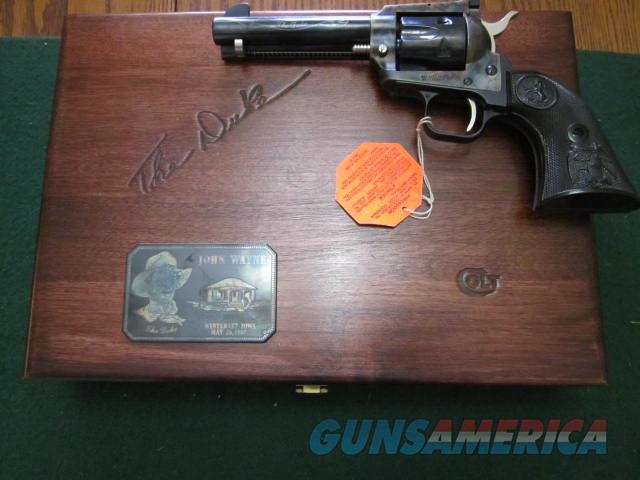 Colt John Wayne The Duke Frontier Scout  Guns > Pistols > Colt Commemorative Pistols