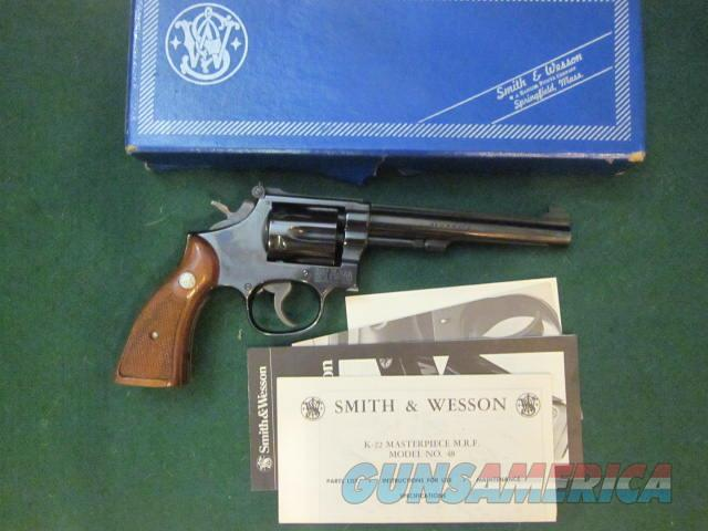 Smith & Wesson 48-4 22 Mag  Guns > Pistols > Smith & Wesson Revolvers > Med. Frame ( K/L )