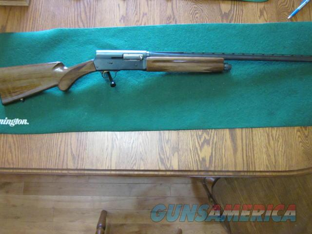 Browning A-5 Mag 20 Belgium  Guns > Shotguns > Browning Shotguns > Autoloaders > Hunting