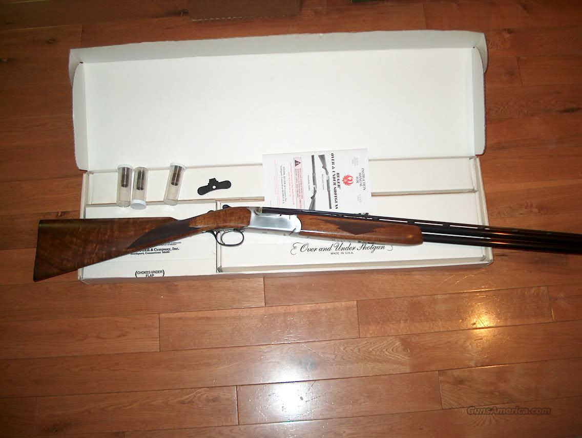 Ruger RedLabel 28ga English Stock  Guns > Shotguns > Ruger Shotguns > Hunting