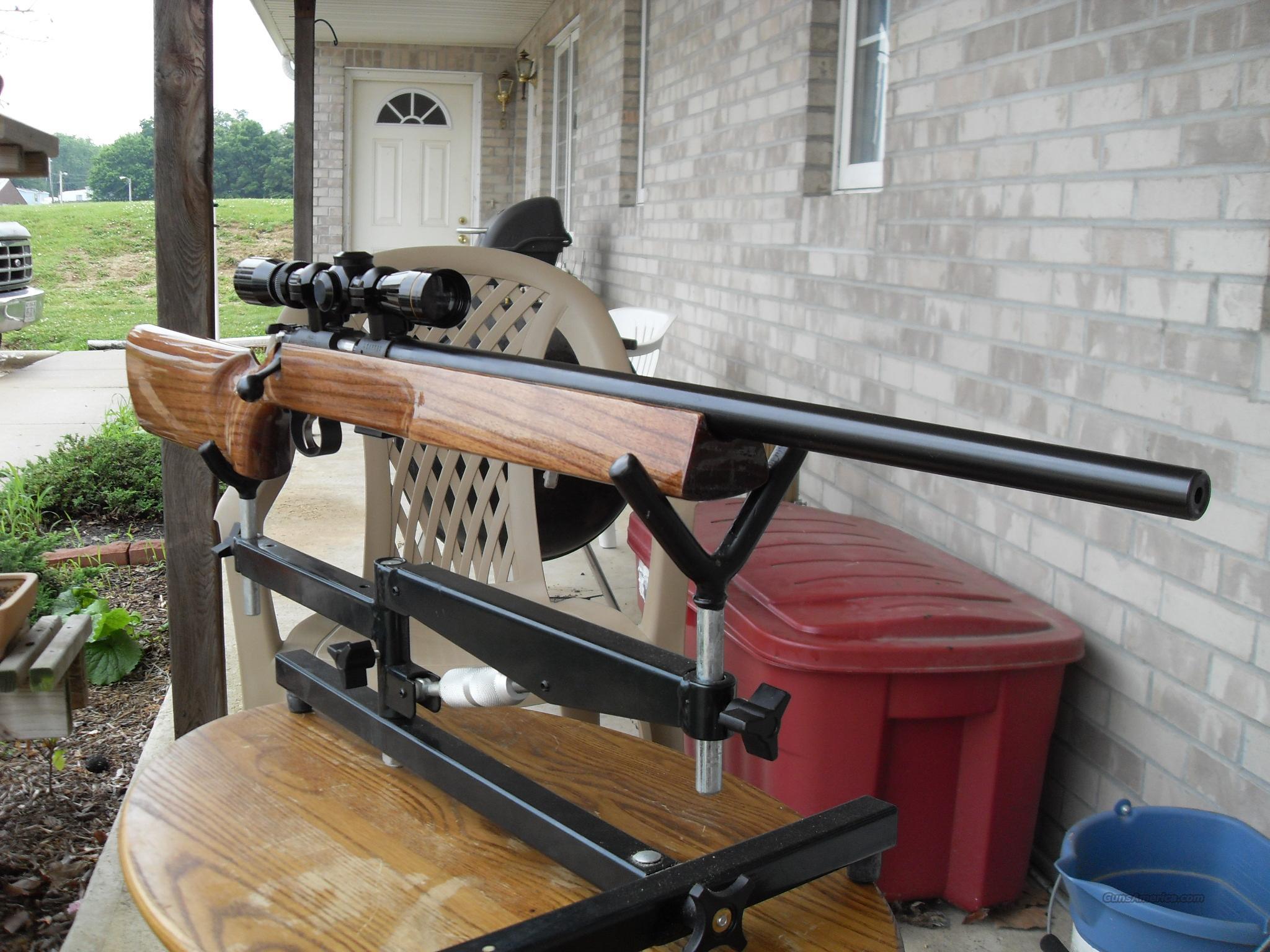 Cz 452 22lr Varmint Custom Sporter Benchrest Target Rifle For Sale 954736843