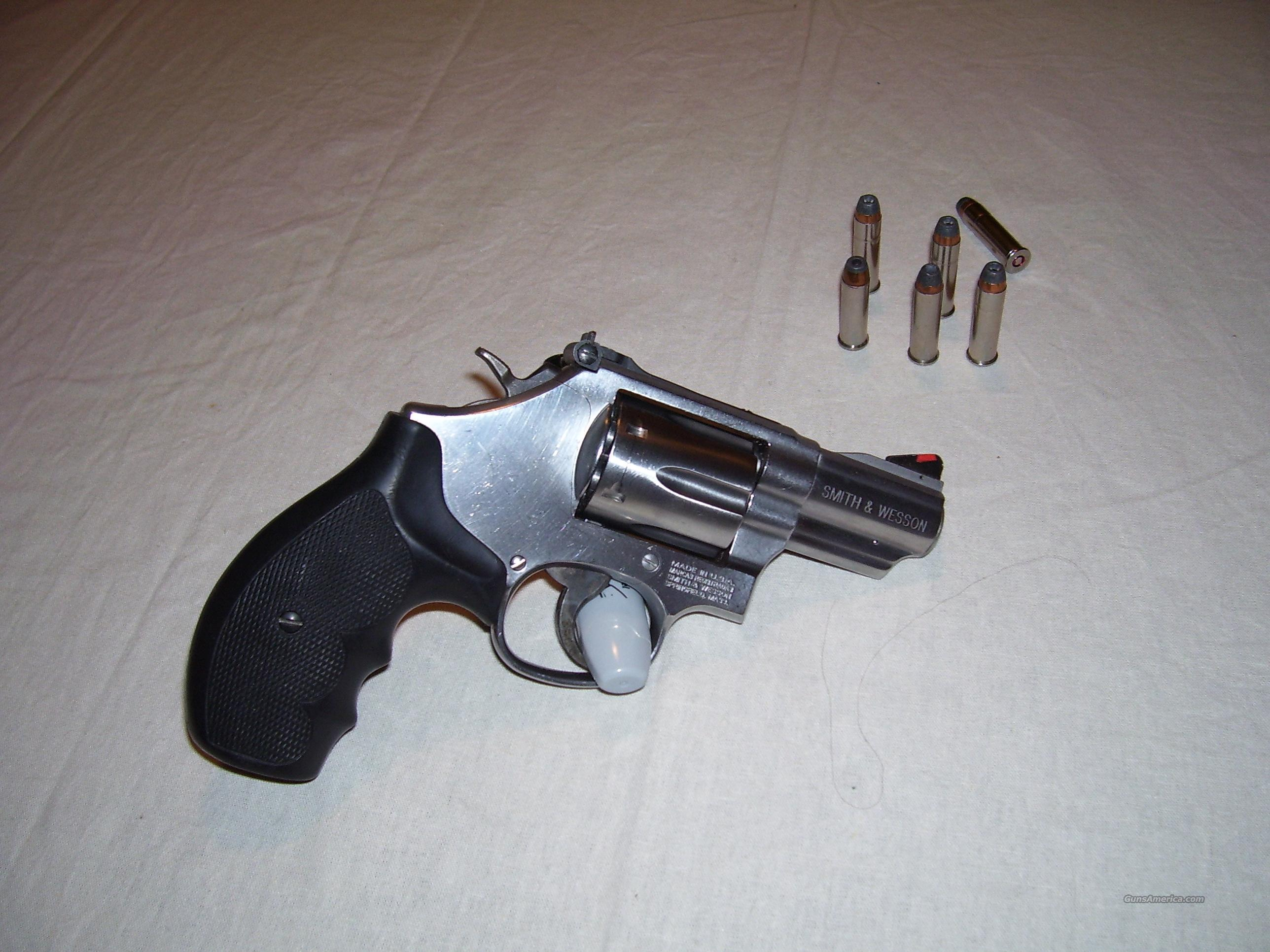 S&W MODEL 66 STAINLESS STEEL  Guns > Pistols > Smith & Wesson Revolvers > Pocket Pistols