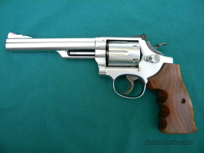 "Smith & Wesson 357 Magnum Model 19-3 6"" Hard Chrome Finish                   Guns > Pistols > Smith & Wesson Revolvers > Full Frame Revolver"
