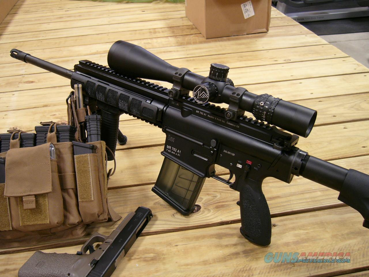 HK MR762  Guns > Rifles > Heckler & Koch Rifles > Sporting/Hunting