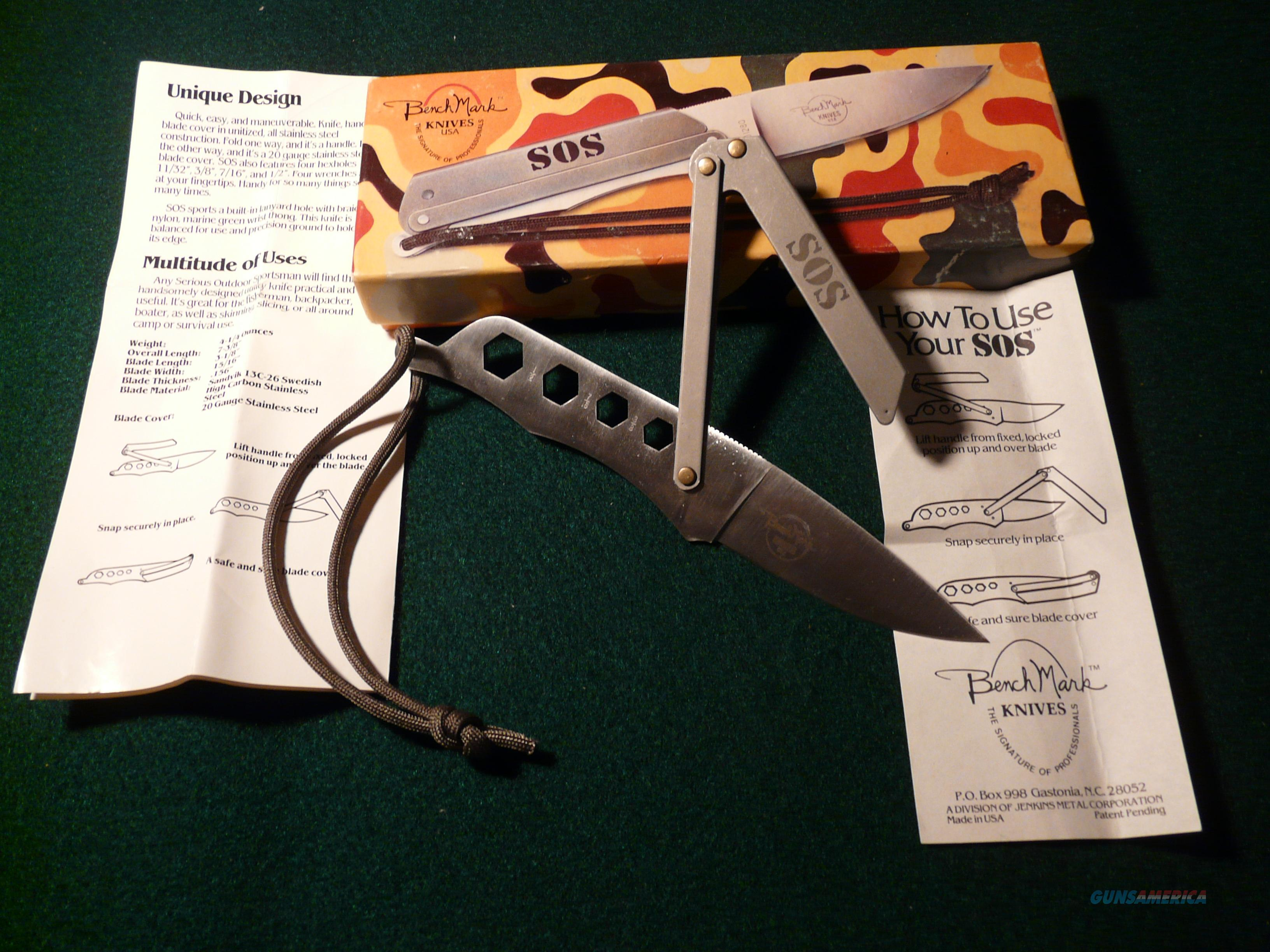 Benchmark SOS Survival Knife  Non-Guns > Knives/Swords > Knives > Fixed Blade > Imported