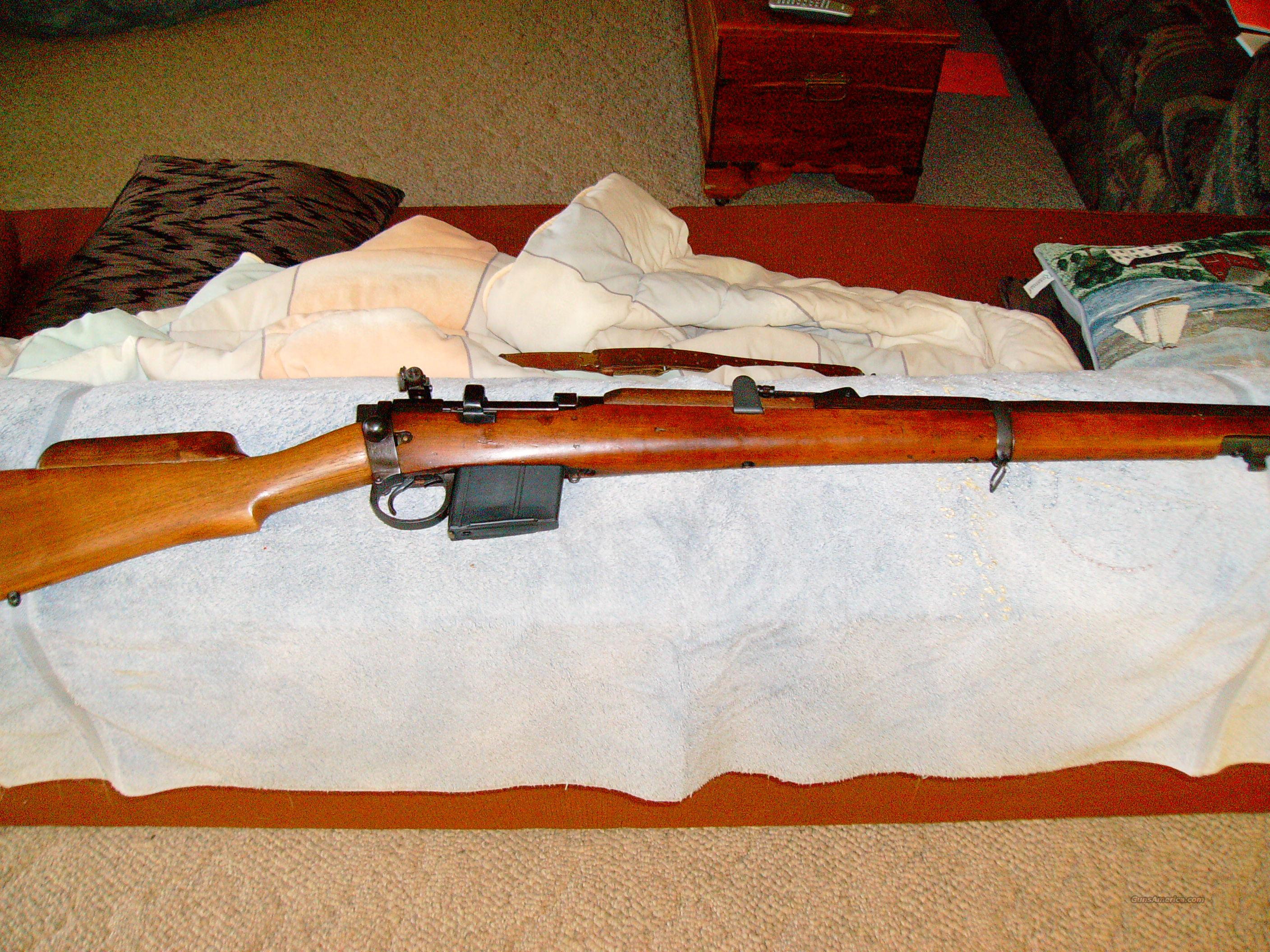 1967 R.F.I. Enfield 2A1 7.62 NATO w/ph5a match sight  Guns > Rifles > Enfield Rifle