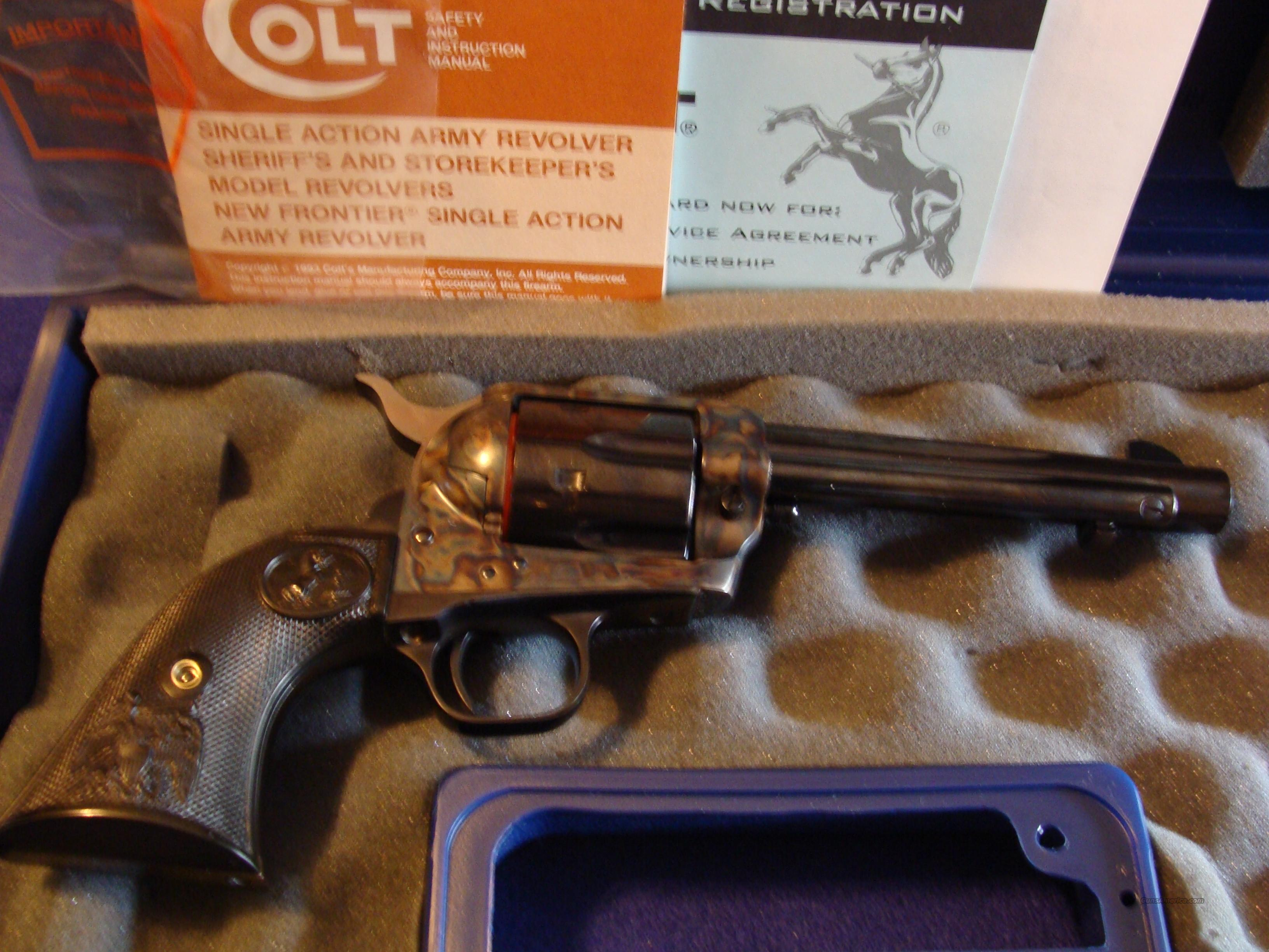 Colt 3RD Gen Single Action Army  Guns > Pistols > Colt Single Action Revolvers - 3rd Gen.