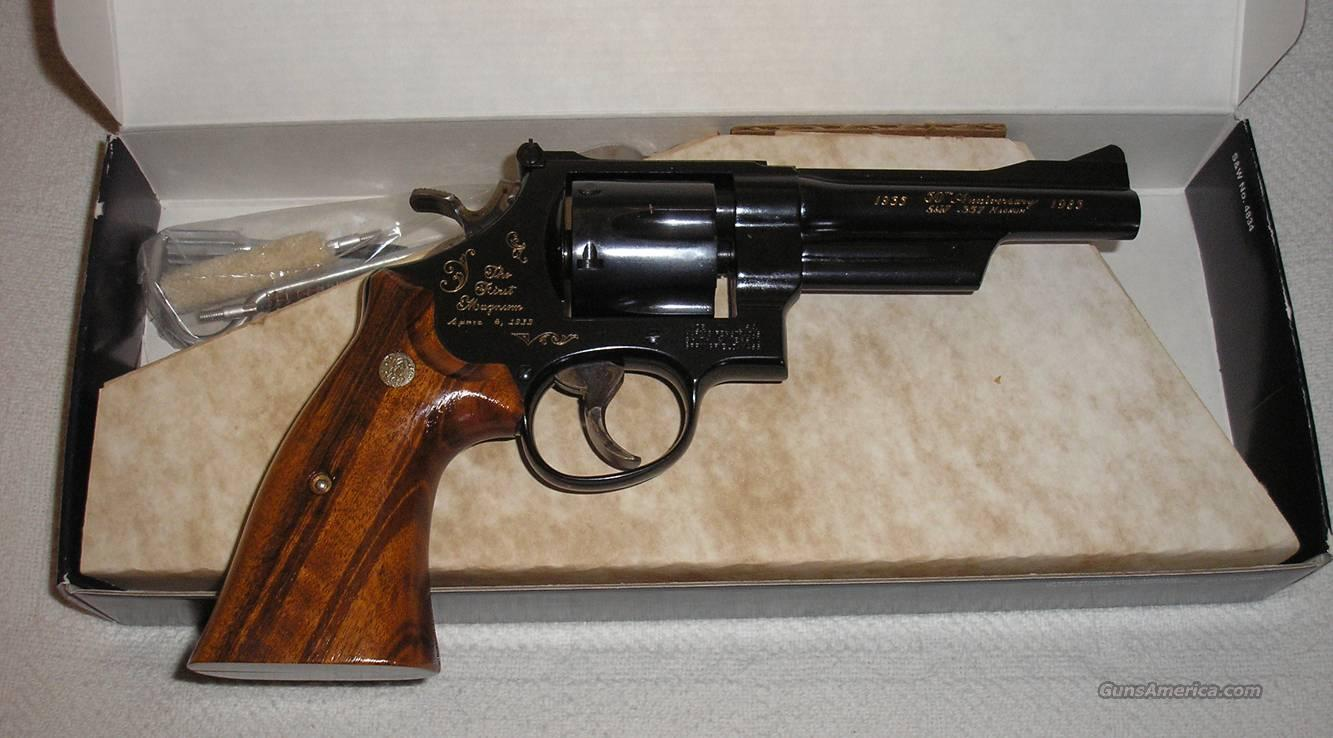 Smith & Wesson S&W Model 27-3, .357 Magnum 50th Year Commemorative  Guns > Pistols > Smith & Wesson Revolvers > Full Frame Revolver