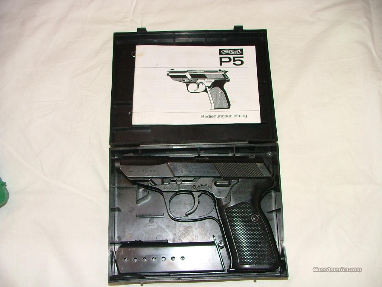 Walther P5  Guns > Pistols > Walther Pistols > Post WWII > P99 / PPQ