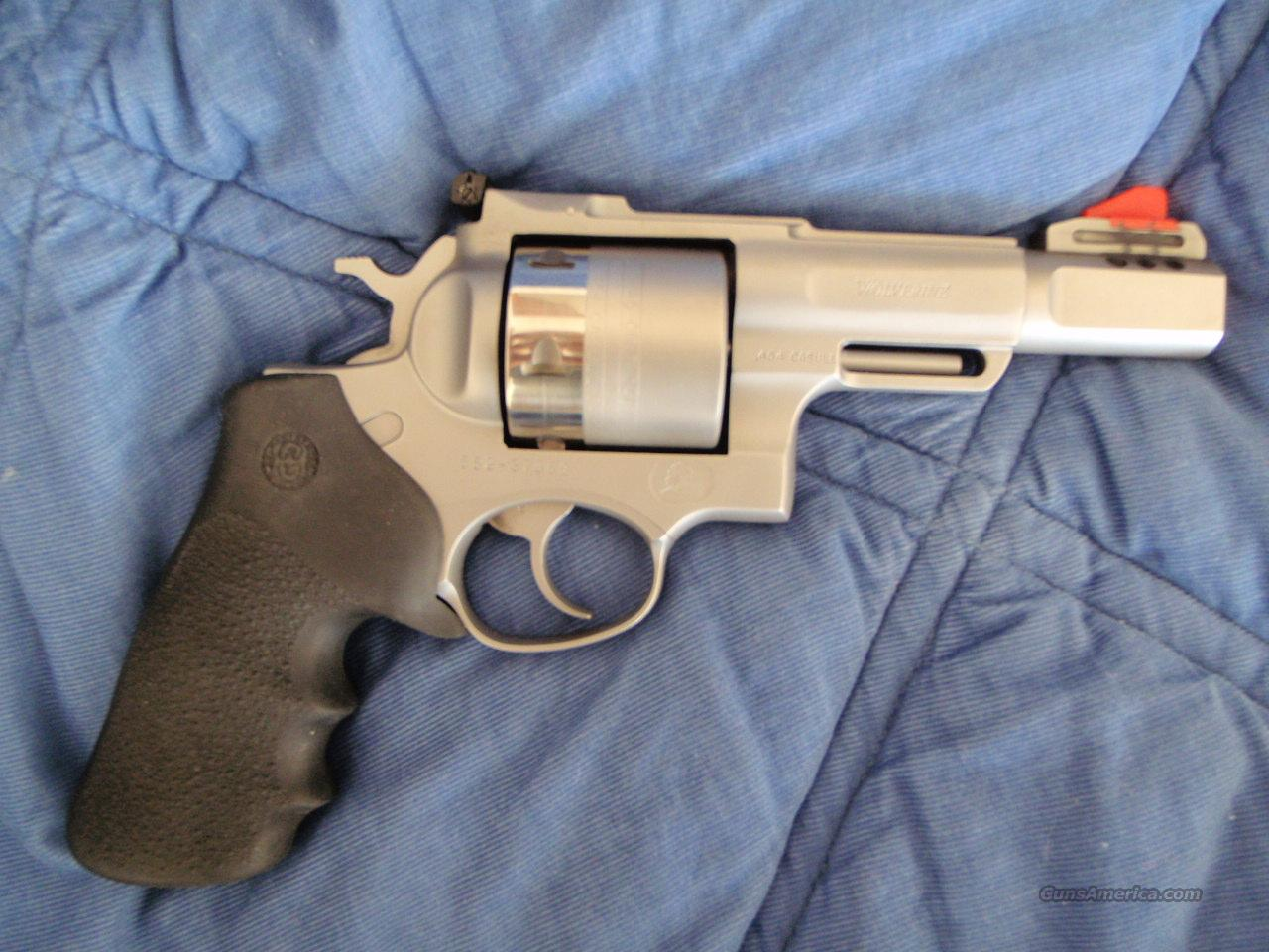 WILD WEST WOLVERINE  CUSTOM RUGER WITH AMMO  Guns > Pistols > Ruger Double Action Revolver > Redhawk Type